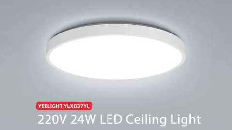 Yeelight YLXD37YL - Yeelight YLXD37YL 24W LED Ceiling Light Banggood Coupon Promo Code [Czech Warehouse]
