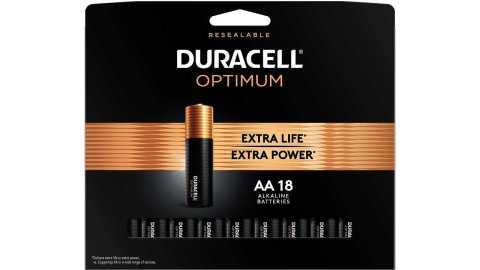 Duracell Optimum AA - Duracell Optimum AA Batteries 18 Count Pack Amazon Coupon Promo Code