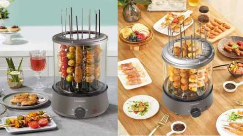 LIVEN KL J123 - LIVEN KL-J123 Automatic Rotating Kebab Machine Banggood Coupon Promo Code