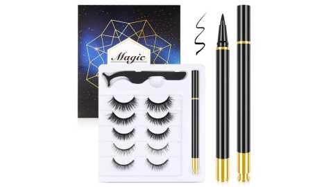 Malanzs Magnetic Eyelashes - Malanzs Magnetic Eyelashes and Magnetic Eyeliner Kit Amazon Coupon Promo Code [Daily]