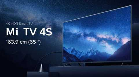 Xiaomi Mi TV 4S 65 - Xiaomi Mi TV 4S 65 inch Banggood Coupon Promo Code [Czech Warehouse]