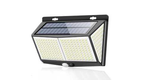 ARILUX 288LED solar wall light - ARILUX 8W 288LED Solar Wall Light Banggood Coupon Promo Code