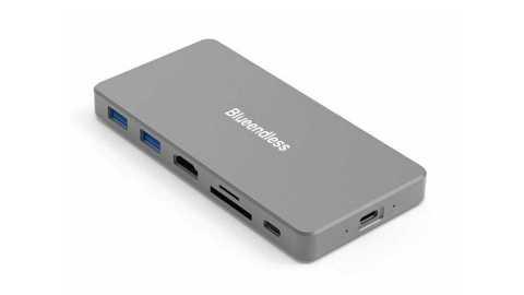 Blueendless MC701 - Blueendless MC701 7 in 1 Docking Station SSD Box Banggood Coupon Promo Code