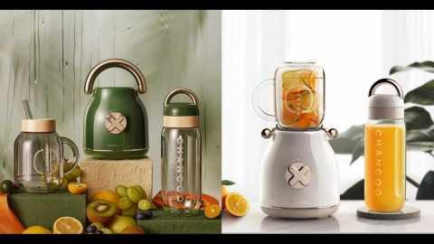 CHANCOO CC5800 1 - CHANCOO CC5800 Portable Juicer with Two Cups Banggood Coupon Promo Code