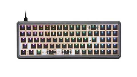 Geek Customized GK73XS aluminum - Geek Customized GK73XS Keyboard Customized Kit Banggood Coupon Code [Aluminum Alloy Version]