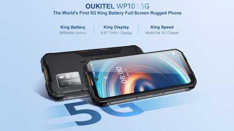 OUKITEL WP10 - OUKITEL WP10 Banggood Coupon Promo Code [8+128GB]