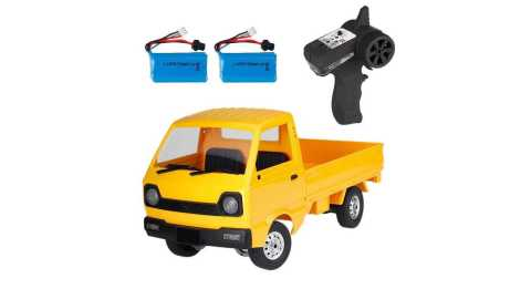 WPL D12 - WPL D12 1/10 Truck RC Car Banggood Coupon Promo Code [2/3 Batteries]