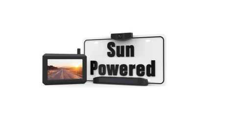 61aup119YL. AC SL1484  - BOSCAM SunGo Pro Solar Wireless Rear View Camera Amazon Coupon Promo Code