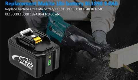 90Ah Replacement Battery for Makita 18V Tool - 9.0Ah Replacement Battery for Makita 18V Tool Banggood Coupon Promo Code