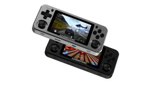 ANBERNIC RG351M - ANBERNIC RG351M 7000 Games Handheld Video Game Console Banggood Coupon Code [128GB]
