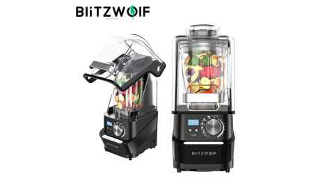 BlitzWolf BW CB2 - BlitzWolf BW-CB2 1.5L Counter Blender Banggood Coupon Promo Code [Czech Warehouse]