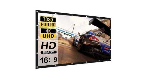 HOIN Projector Screen 120 inch - HOIN Projector Screen 120 inch Amazon Coupon Promo Code