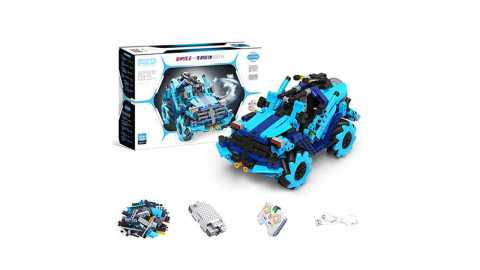 MoFun M10 - MoFun M10 DIY Building Block Smart RC Robot Car Banggood Coupon Promo Code