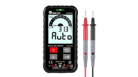 TOOLTOP ET8132 - TOOLTOP ET8132 Smart Digital Multimeter Banggood Coupon Promo Code