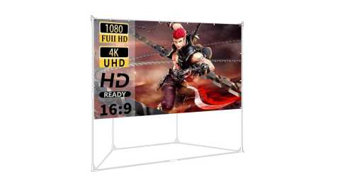 hoin Projector Screen with Trapezoid Stand - HOIN Projector Screen with Trapezoid Stand 100 inch Amazon Coupon Promo Code
