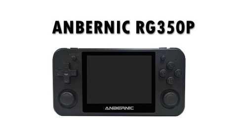 ANBERNIC RG350P - ANBERNIC RG350P Video Game Console Banggood Coupon Code [16GB 2500 Games]
