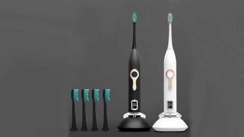 HERE MEGA 608 - HERE-MEGA 608 Sonic Electric Toothbrush Banggood Coupon Promo Code