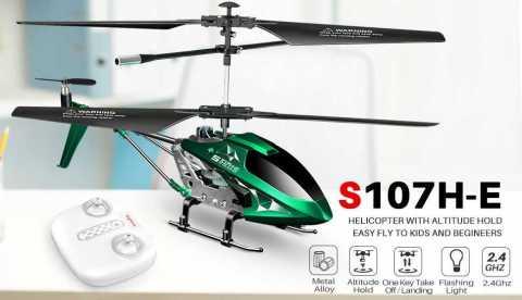 SYMA S107H E - SYMA S107H-E RC Helicopter Amazon Coupon Promo Code
