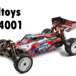 Wltoys 104001 1/10 4WD Metal Chassis RC Car