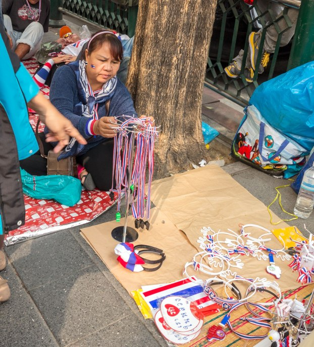 Whistle and lanyard seller