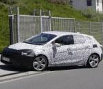 Nowy Opel Astra przyłapany podczas testów
