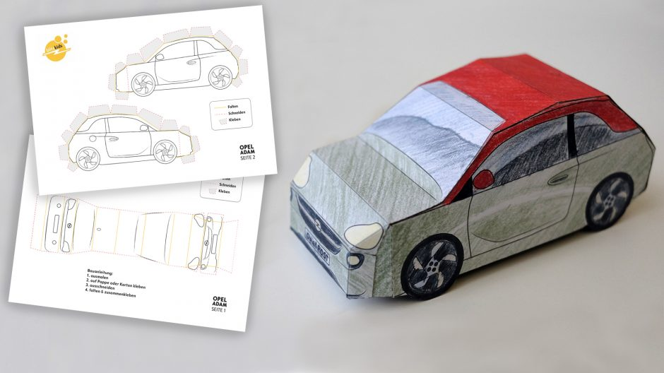 Build Your Own Car Opel Post