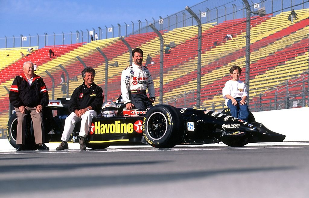 The Andretti Family at Nazareth in the 1990s