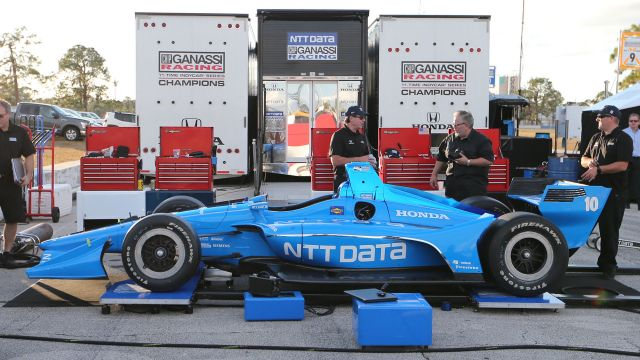 Ed Jones Chip Ganassi Racing Honda