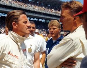 Graham Hill and Dan Gurney