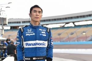 Takuma Sato at ISM Raceway.