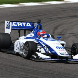 Herta sweeps Indy Lights weekend after thrilling race two duel