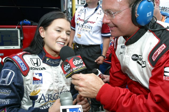 Dr. Jerry Punch and Danica Patrick