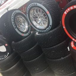 Firestone unveils new rain tire at Detroit GP