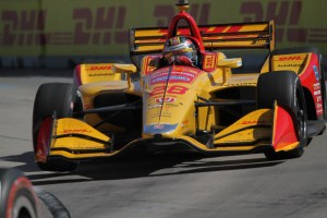 Winner Ryan Hunter-Reay not phased by delayed start to Detroit's second dual