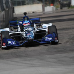 Tale of two races for Rahal, Sato at Detroit GP