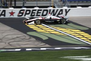 Newgarden Paces Final Practice at Iowa