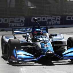 Sato sets the pace in third Honda Indy Toronto practice