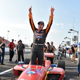 Ryan Norman duels Colton Herta for first Indy Lights win