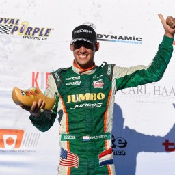 Rinus VeeKay clinches Pro Mazda championship in Portland as Askew takes victory