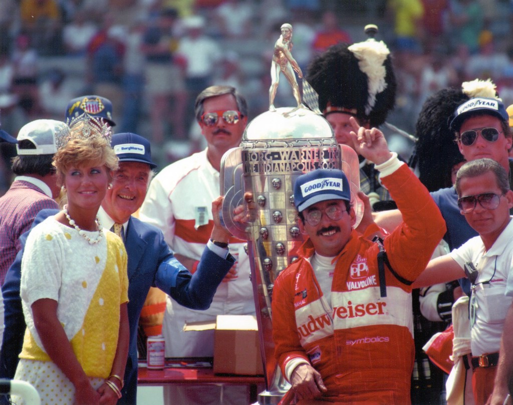 Bobby Rahal wins in 1986