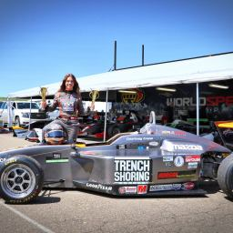 Courtney Crone ready to tackle Road to Indy Shootout