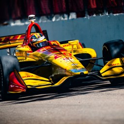 Ryan Hunter-Reay paces disjointed third practice in St. Petersburg