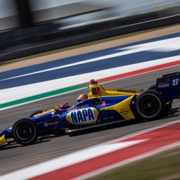 Alexander Rossi heads final IndyCar Series practice
