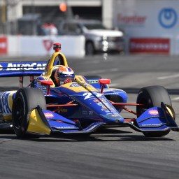 Rossi and Rahal lead the way after third Long Beach practice