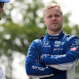Rosenqvist ready to put Indy experience to work at Texas
