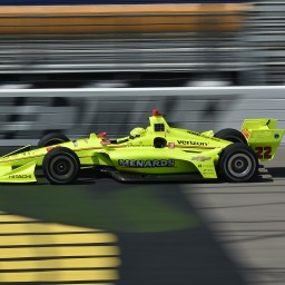Simon Pagenaud paces final practice at Iowa Speedway