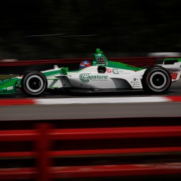Herta again quickest in third Mid-Ohio practice session