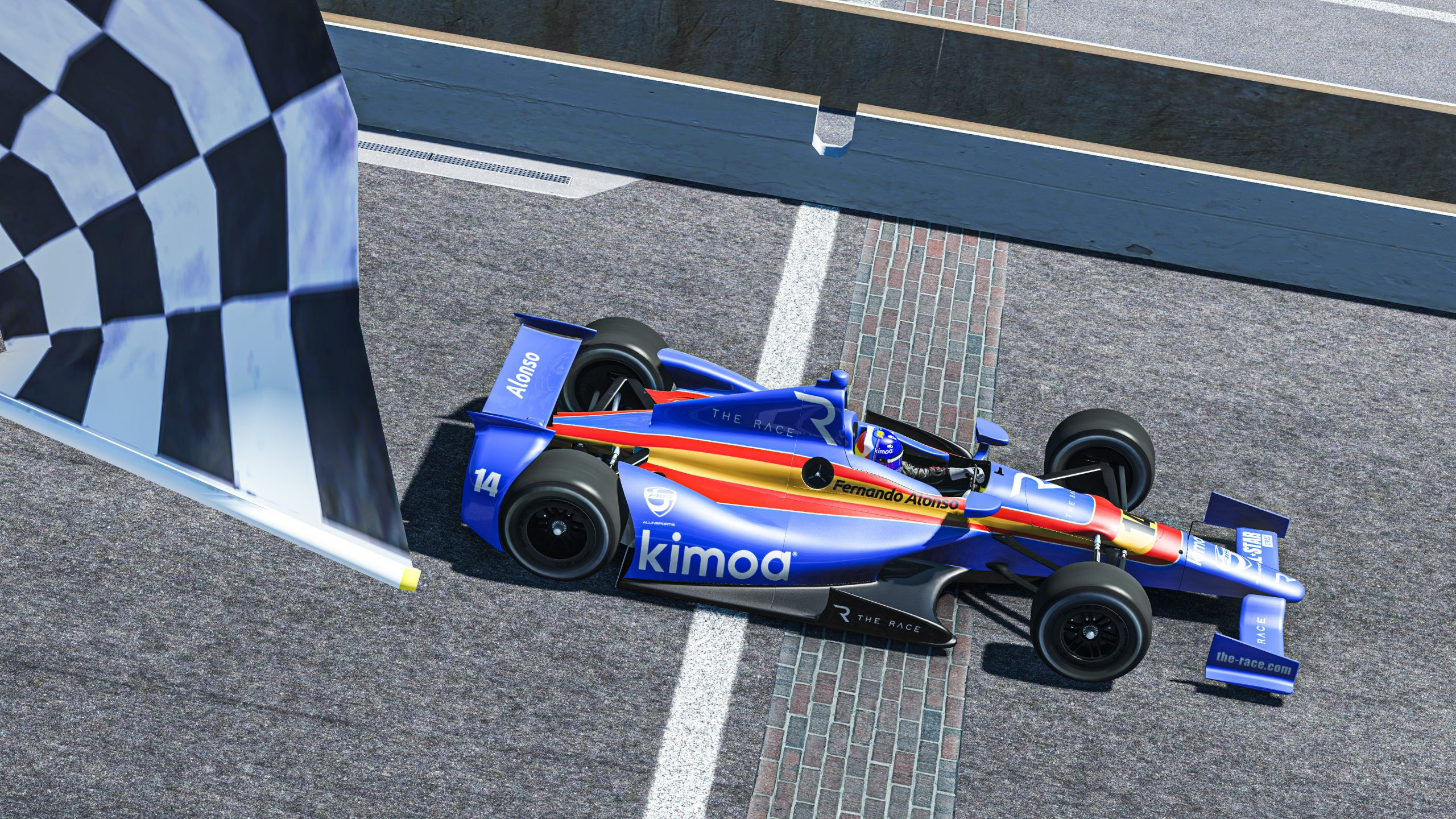 Alonso claims pair of victories at virtual IMS in Legends Trophy round