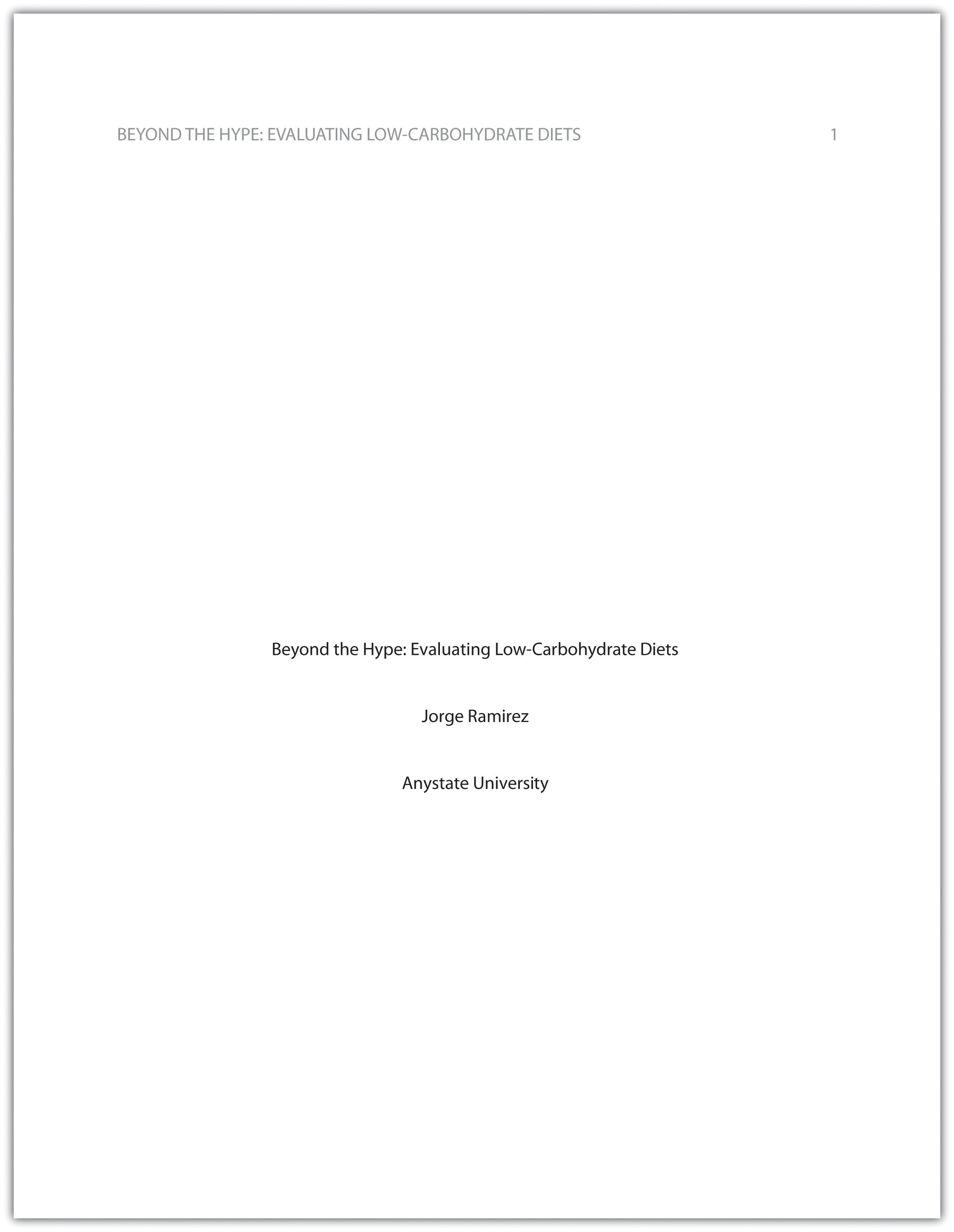 13 1 Formatting A Research Paper Writing For Success
