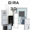 GIRA 3D Set 3D Model